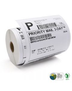 Thermal Label 4X6'' White